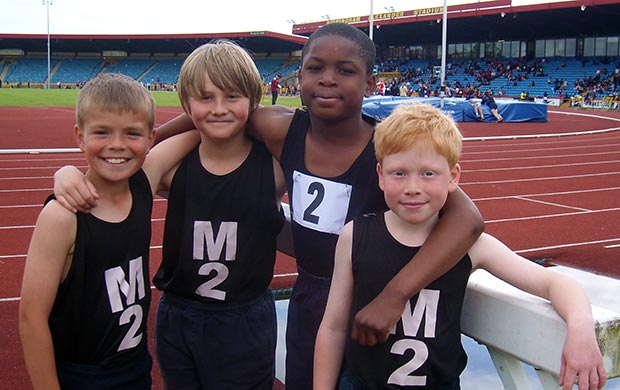 Moffats at the Alexander Stadium